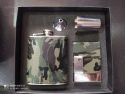 Army Hip Flask Set