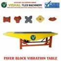 Paver Block Tiles Vibration Table