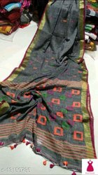 Khadi Cotton Weaving Box Jamdani Sarees