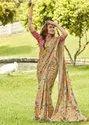 Flower Printed Designer Ladies Saree