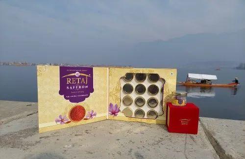 RETAJ Wholesale Saffron Pack 1gm x 20 B