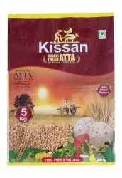 Indian Whole Wheat Chakki Atta 5kg Bags, Packaging Type: Plastic Bag