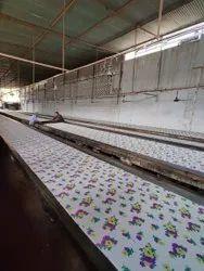 Cotton Smooth Textile Screen Printing Services
