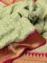 Banarasi Khaddi Georgette Chiffon Silk Sarees