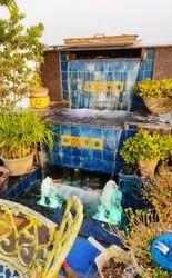Water Sheet Bell Jet Fountain