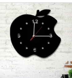 Omkar Mechanical Elegant Black Metal Wall Clock Dial, Size: 450x 450mm. 350x350mm, Model Name/Number: Omkar1018