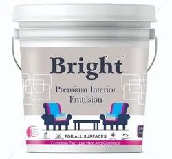 High Gloss Emulsion Water Based Floor Paints, For Exterior, Packaging Type: Bucket