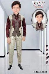Satin Fancy Boys Suits, Size: 1-10