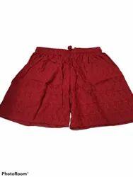 GO BABY Multicolor Ladies Shorts, Size: Free