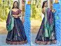 Heavy Banarasi silk Lehenga Choli
