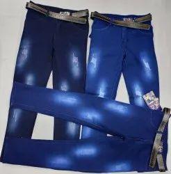 Denim Party Wear Kniting, Size: 32x40, Machine wash
