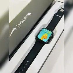 Black Silicone Apple Smartwatch