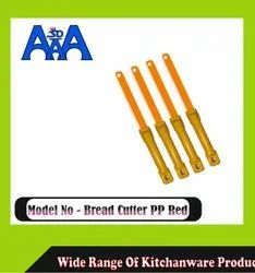 AAA WOODEN Bread cutter pp red, For Cutting Veggies