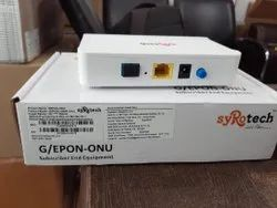 1 Port Syrotech Gopon 1000r Onu, For Epon Network