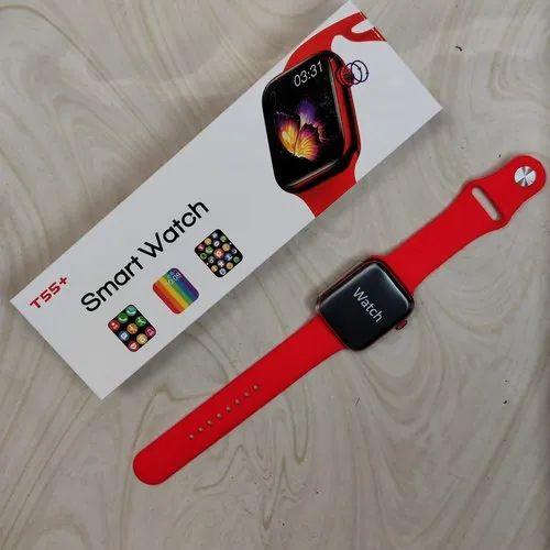 Rectangular T55 Plus Smartwatch