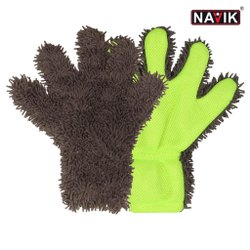 Double Colour Finger Gloves