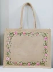 Jute Shopping Bags With Customized Print