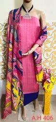 Shifa enterprises Katan Salab Ladies Marble print suit, Machine wash