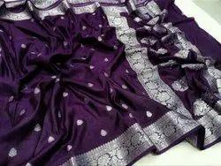 Semi Silk Banarasi Saree
