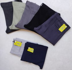 Blue Bond 4 Way Laycra Men's Cotton Trousers