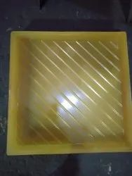 Designer Chequered Tile Silicone Mould