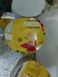 White Printed Lamination Paper Plates Circle raw materials, Paper GSM: 100 Gsm 180 Gsm