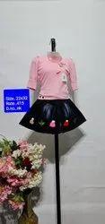 NK Pink Kids Skirt Top