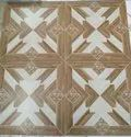 Glossy Brown Double Charged Vitrified Tiles, Thickness: 10mm, Size: 600 X 600 Mm