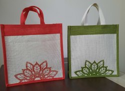 Assorted Printed Jute Bags