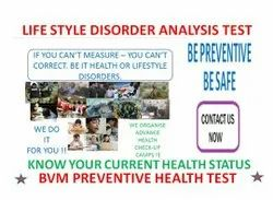 Unisex On Prior Appointment Only BVM PREVENTIVE HEALTH LIFE STYLE DISORDER STRESS TEST, Delhi