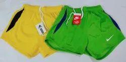 Polyester Plain Mens Athletic Shorts