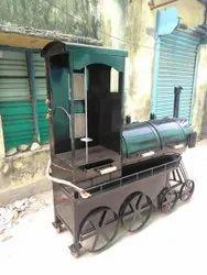 Train model Barbecue and shawarma