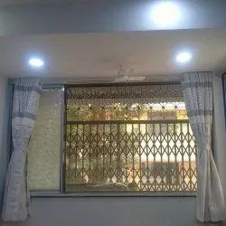 Plated mosquito net window