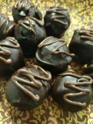 Round Coconut Chocolate Balls