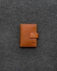 Leather Wallet Tan Unixe