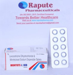 Levocetirizine Dihydrochloride And Montelukast Sodium Dispersible Tablets