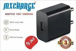 Black MXHARGE Mobile Charger 2.4 Amp (Model No. MT-20)