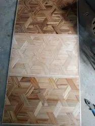 Hexagonal 38mm parquet block flooring