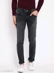 Lycra Loose Fit Men Jeans, Waist Size: 28 30 32