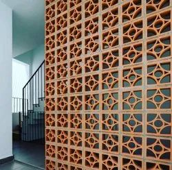 Nuvocotto Solid Clay Jali Blocks, For Partition Walls