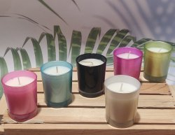 Coloured Scented votive Candles