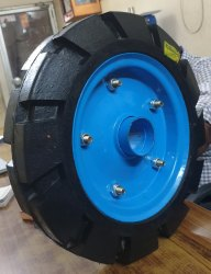 Construction Trolley Wheel