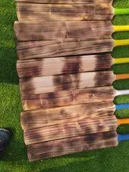 Brown Wooden Kashmir Tennis Cricket Bat, Size: 32 Inches