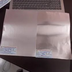 Silver Laminated Paper, 60 To 200