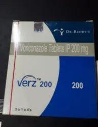 Voriconazole Verz 200 Mg Tablet, Strip, Prescription
