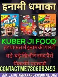 KUBER JI Fryms Snack Fryums Snacks, Packaging Size: 320