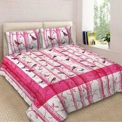Dashing Look Pure Cotton New Design Bedsheet
