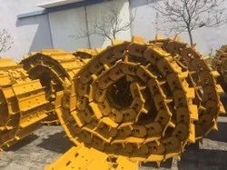 Manganese Gravity Track Chain Link Assembly, For Excavator