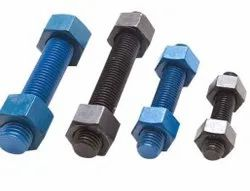 Threaded Sa193 B7 Studs Bolts, For Industrial, Size: M5 To M40