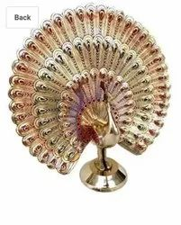 Home Decoration Peacock Brass 6inch